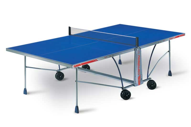 Table ping pong tennis de table cornilleau first outdoor - Dimension table de ping pong cornilleau ...