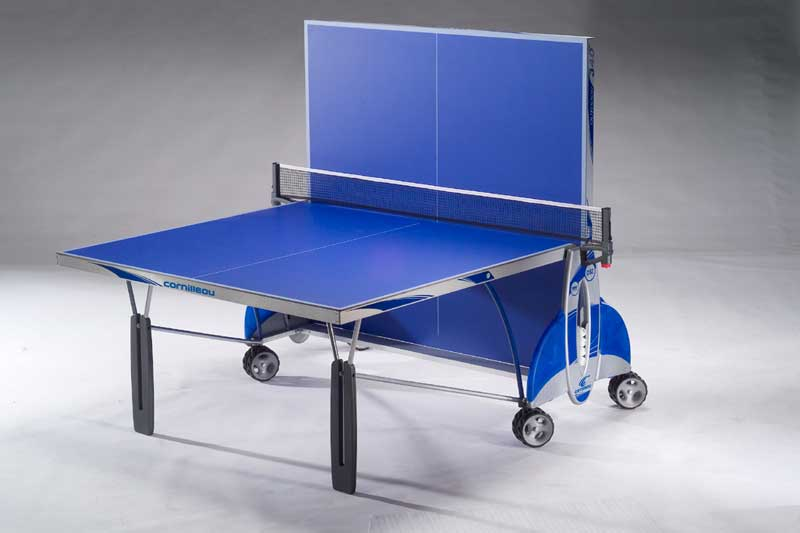 Table ping pong tennis de table cornilleau 340 outdoor - Dimension table de ping pong cornilleau ...