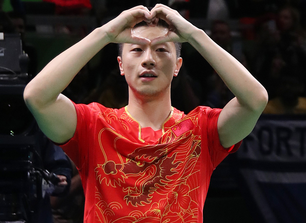 Ma Long, Champion Olympique