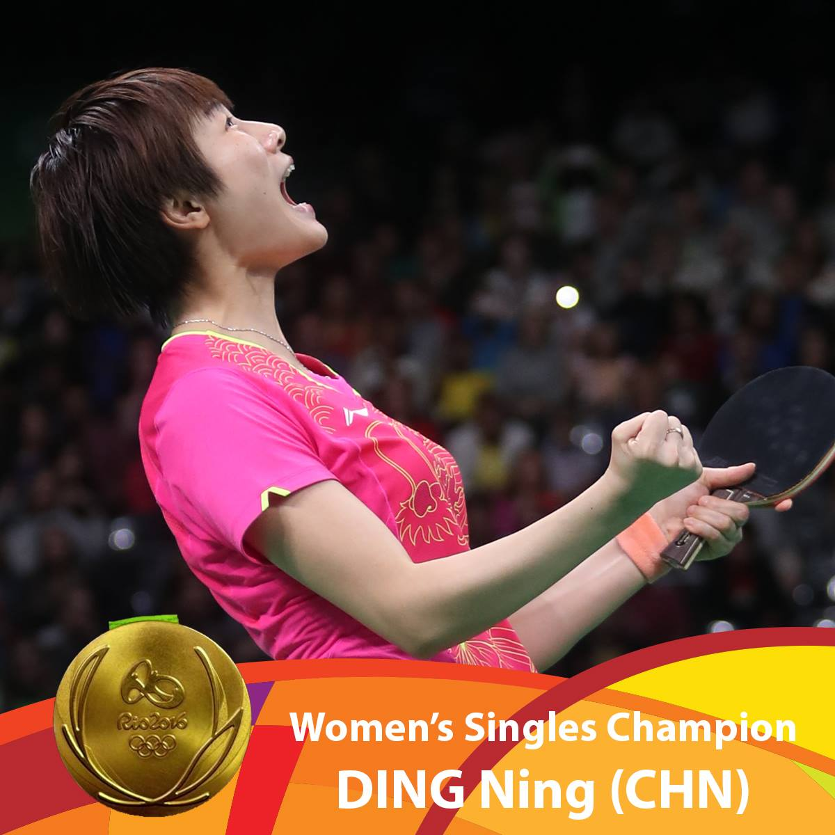Ding Ning Championne Olympique