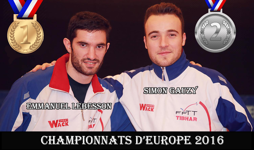Emmanuel Lebesson est Champion d'Europe