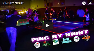 Ping Pong By Night à St Etienne