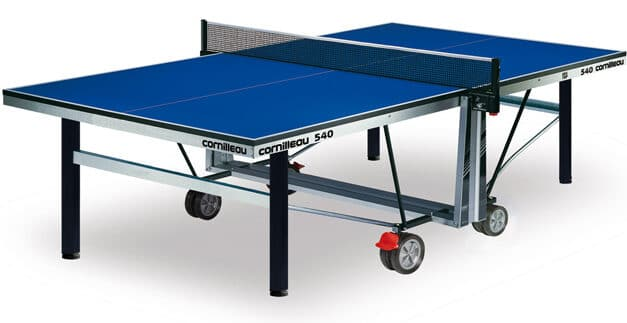 Table Ping Pong tennis de table Cornilleau compétition 540 INDOOR