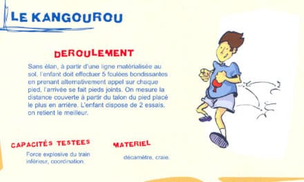 Le kangourou / Entraînement Tennis de Table