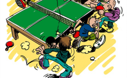 La tournante au tennis de table, Ping Pong