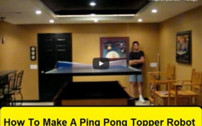 Incroyable! Le gars transforme son billard en table de Ping Pong