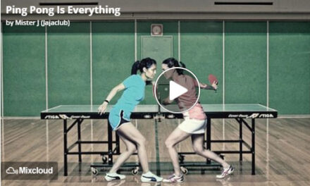 Exclu! Musique « Ping Pong is Everything » !