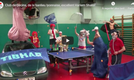 Harlem Shake au tennis de table
