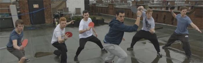 Le Ping Pong, Sport Extrême! Publicité Pepsi