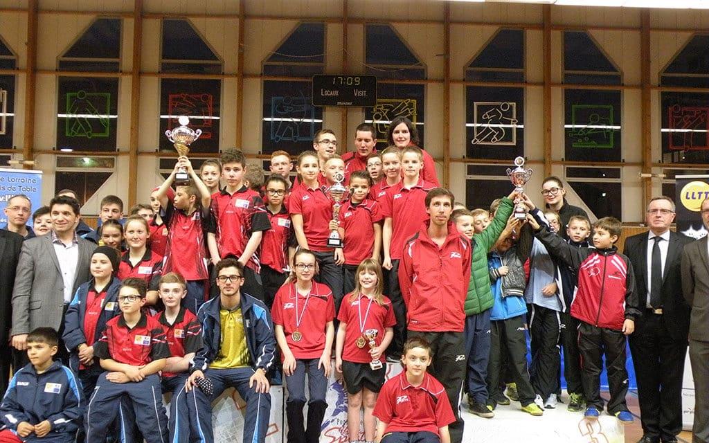 Résultats des internationaux jeunes de Lorraine 2014