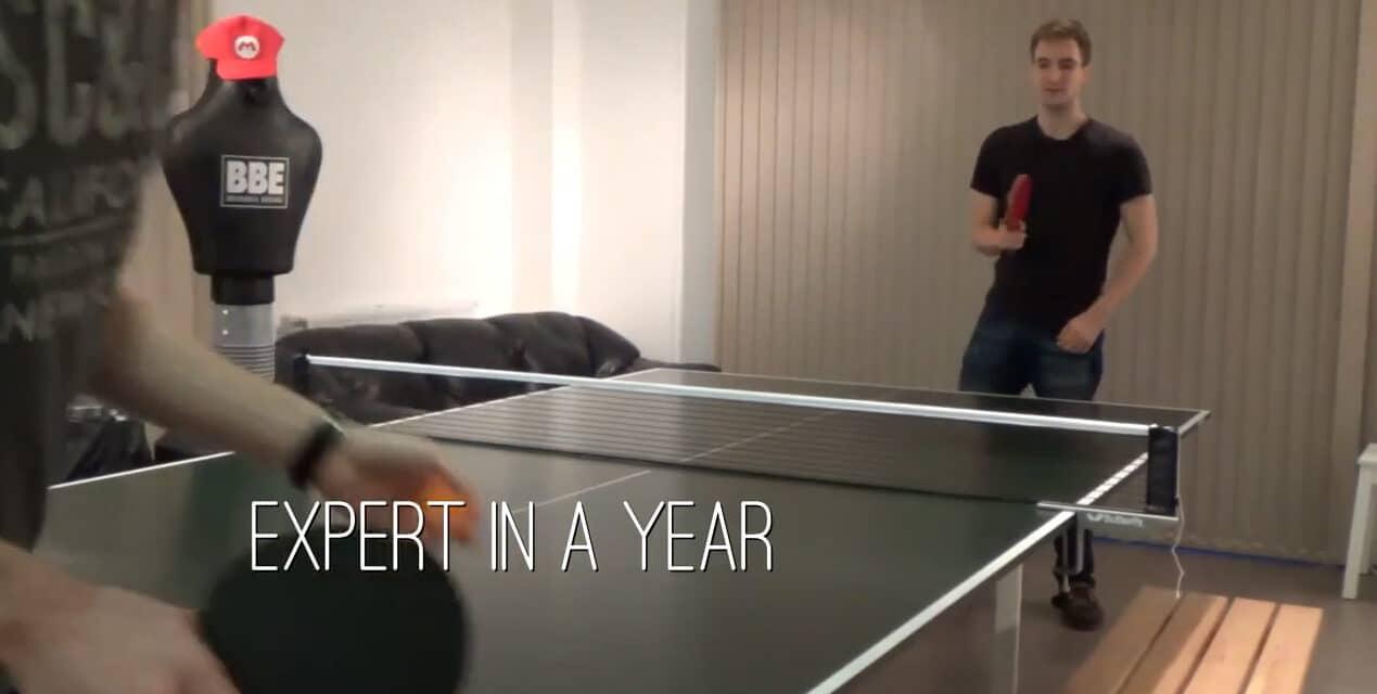Devenir un Champion de tennis de table en 1 an !