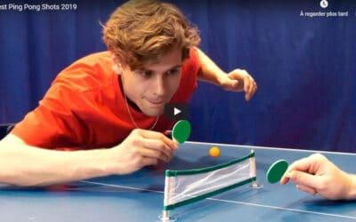 Trick Shot Ping Pong