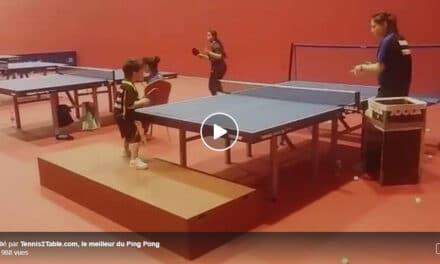 Spectaculaire l'entraînement de ce jeune au panier de balles