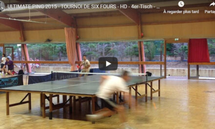 ULTIMATE PING 2015 – TOURNOI DE SIX FOURS – HD
