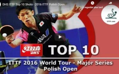 Open de Pologne 2016 de tennis de table