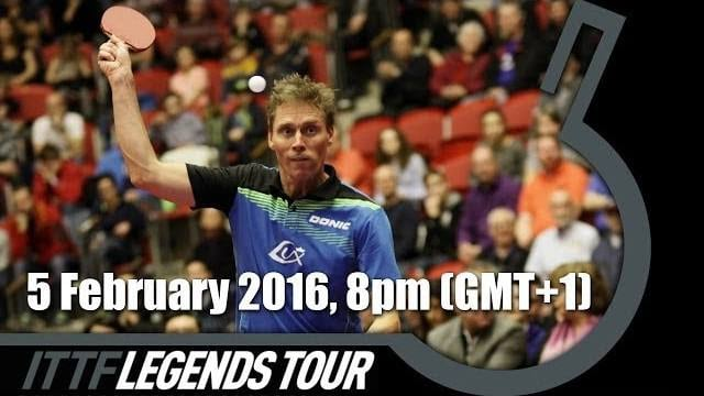 2016 ITTF Legends Tour