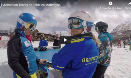 Animation Tennis de Table en Montagne