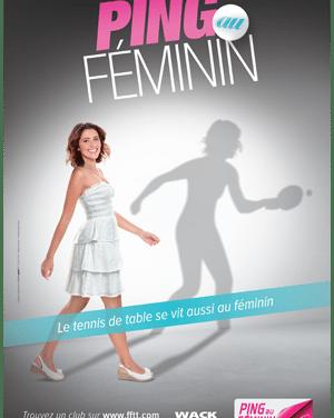 Affiches Ping Au Féminin