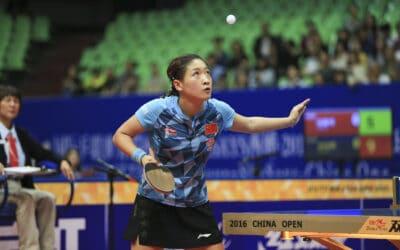 Résultats de l'Open de Chine 2016 de tennis de table