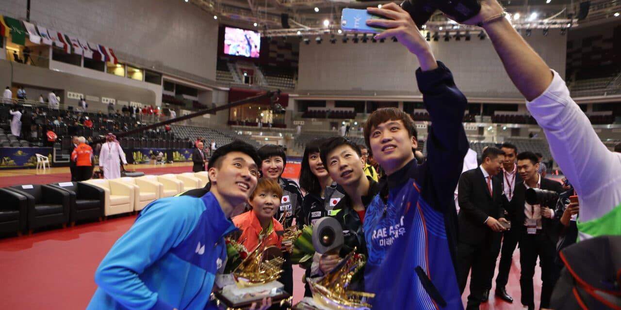 Résultats des grandes finales de l'ITTF World Tour 2016