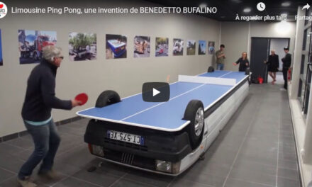 Limousine Ping Pong par Benedetto Bufalino
