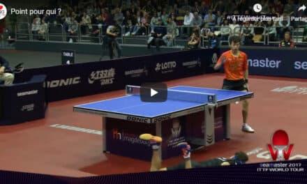 Résultats de l'Open d'Allemagne 2017 de tennis de table