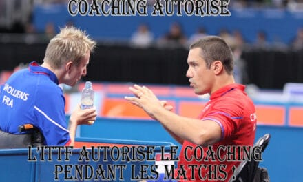 La FFTT teste le Coaching entre les points