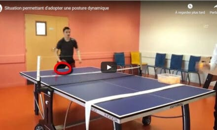 Enseignement du tennis de table
