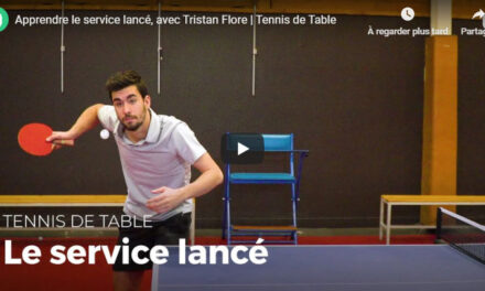 Apprendre à servir au tennis de table