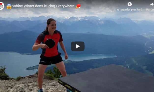 Ping Pong Everywhere avec Sabine Winter