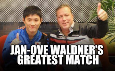 Pleins feux sur Jan Ove Waldner