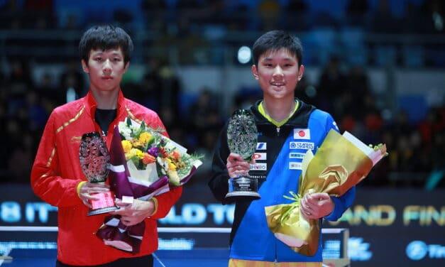 Le meilleur des grandes finales du World Tour ITTF 2018 de tennis de table