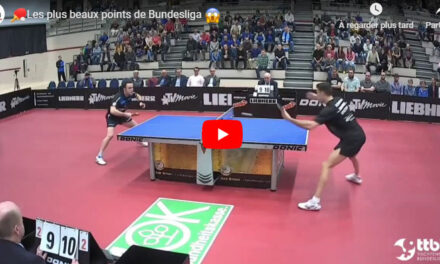 Le meilleur des Play Off  2019 de Bundesliga tennis de table