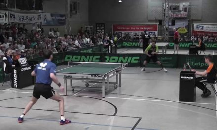 Le plus beau point de Timo Boll