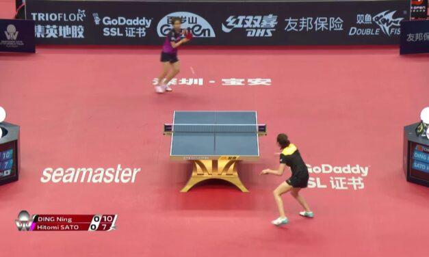 Qui a dit que les femmes ne savent pas jouer au Ping Pong ?