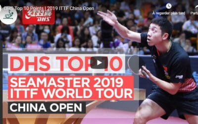 Le meilleur de l'Open de Chine 2019 de tennis de table