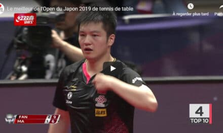 Le meilleur de l'Open du Japon 2019 de tennis de table