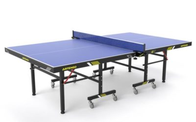 Table de compétition Decathlon FT 950 Indoor Bleue