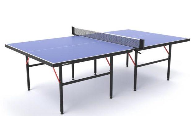 Table de Ping Pong d'intérieur Decathlon FT720 bleu Artengo