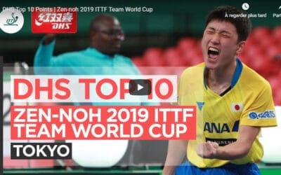 Le meilleur de laCoupe du Monde 2019 de tennis de table