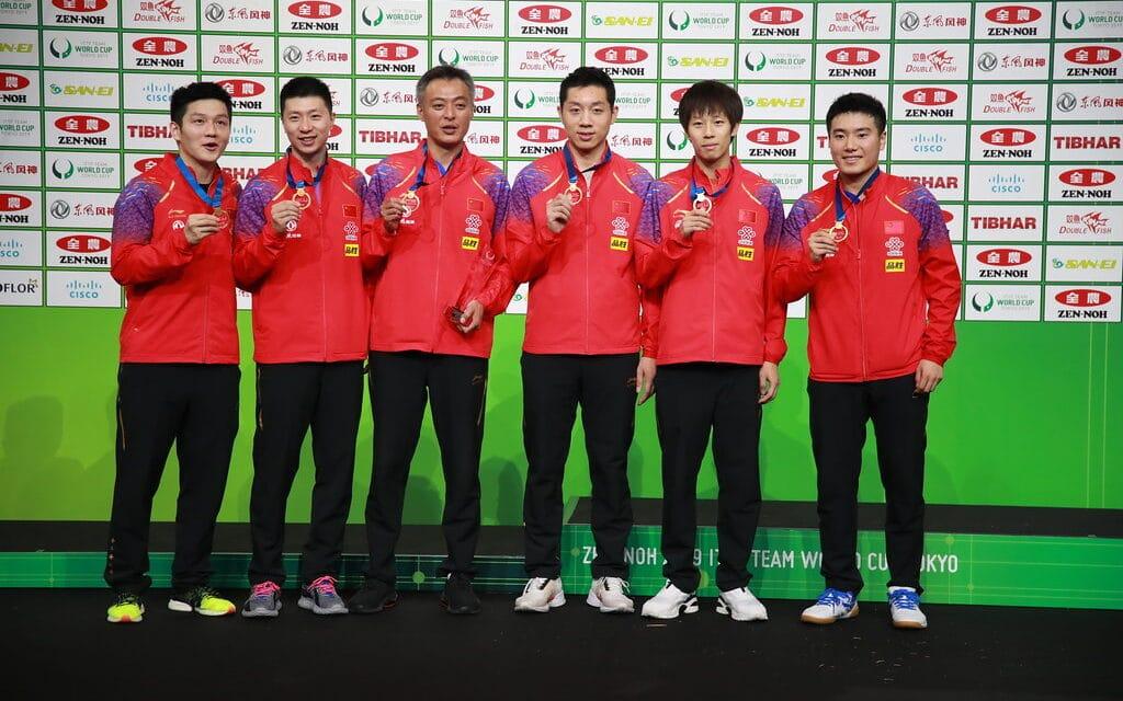 Résultats de la Coupe du Monde par équipes 2019 de tennis de table