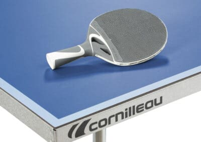 Cornilleau - table 100S Crossover Outdoor blue - coin table
