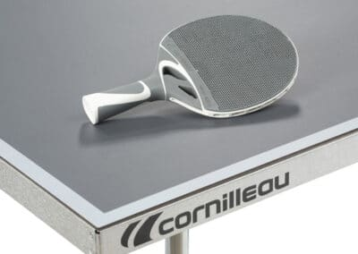 Cornilleau - table 100S Crossover Outdoor - coin table gris