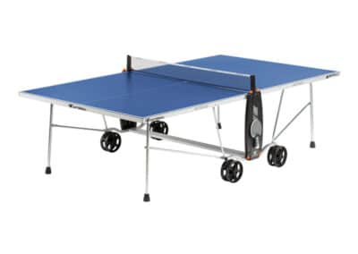 Cornilleau - table 100S Crossover Outdoor - ouverte blue