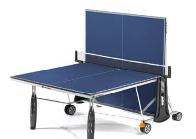 Cornilleau - table 250 Indoor blue - jambe de force - jeu seul copie