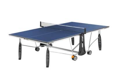 Cornilleau - table 250 indoor HD - jambe de force - ouverte blue