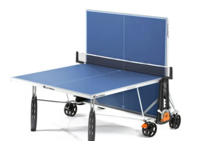 Cornilleau - table 250S Crossover Outdoor blue - jambes de force - jeu seul