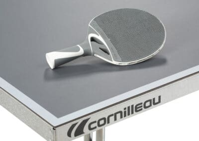 Cornilleau - table 250S Crossover Outdoor - coin table grise
