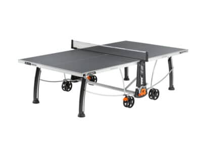 Cornilleau - table 300S Crossover Outdoor avec jambe de force - ouverte grey copie