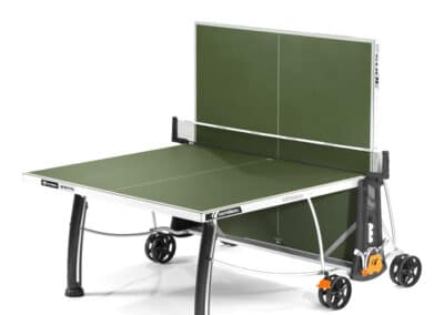 Cornilleau - table 300S Crossover Outdoor green - jambe de force - jeu seul